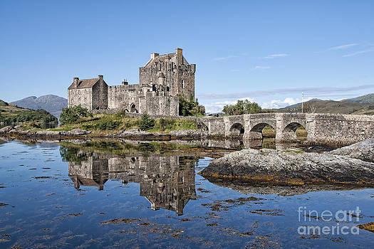 Eilean Donan Castle Reflections by Bel Menpes