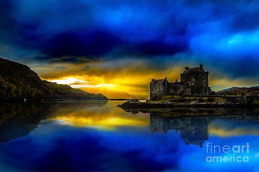 Eilean Donan Castle Scotland II by Lilianna Sokolowska