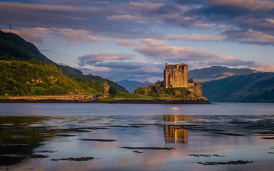 David Ross - Eilean Donan Castle sunset