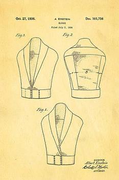 Ian Monk - Einstein Blouse Waistcoat Patent Art 1936