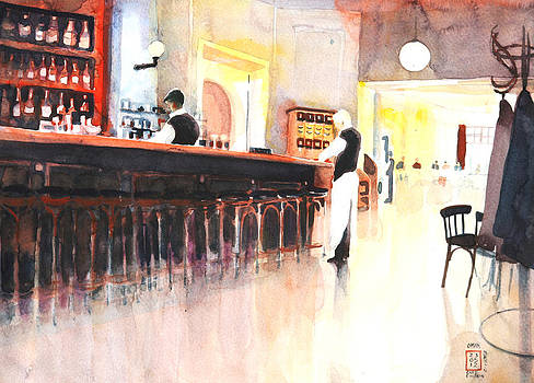Einstein Cafe Berlin by Omar Jaramillo