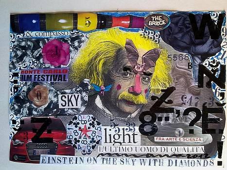 Einstein On The Sky With Diamonds by Francesco Martin