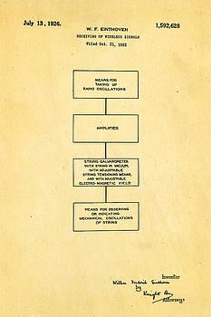 Ian Monk - Einthoven Electrocardiagraph Patent Art 1922