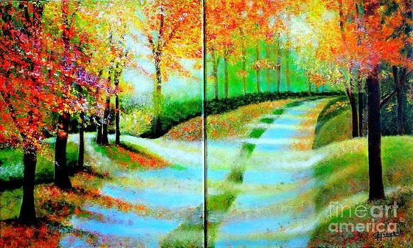 El Camino De La Vida-2 by Carmen Junyent