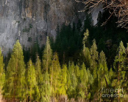 Terry Garvin - El Capitan Reflection in the Merced River