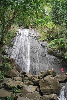 El Junque Falls by Catherine Kurchinski
