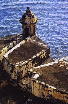 El Morro Castle Old San Juan by Damian Hevia