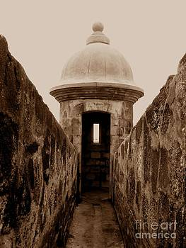 Christine Stack - El Morro Sentry