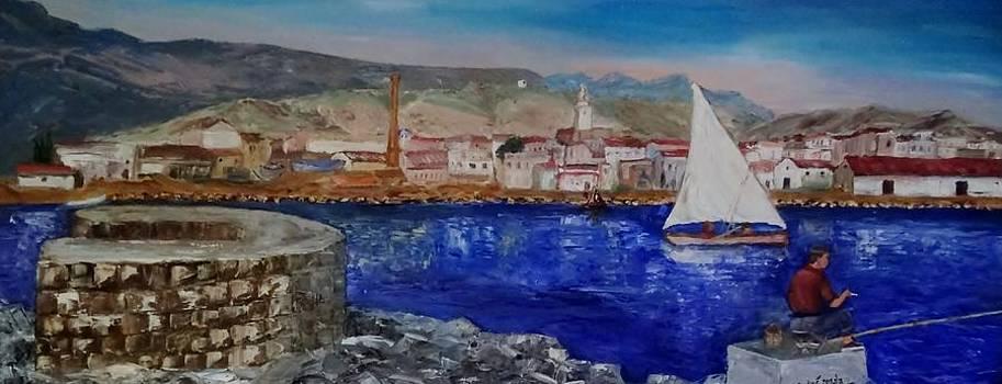 El pescador de La Rapita by Juan Sandin