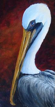 Elaine's Pelican by Kathleen Tucker