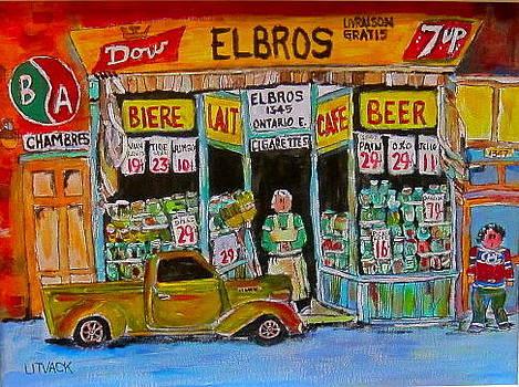 ELBROS Depanneur by Michael Litvack