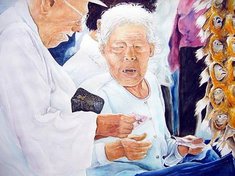 Elderly Couple by Bryan Ahn