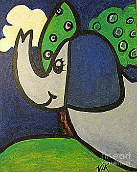 Ele the Elephant by Lyn Vic