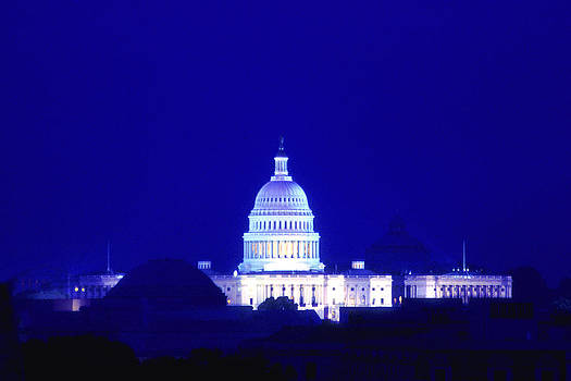 Joe  Connors - Electric Blue over the Capitol
