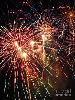 Electric City Fireworks 2013 I by Daniel Henning