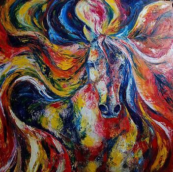Electric Horse by Burduja Olesea