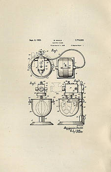 Peggy Collins - Electric Mixer Patent from 1930