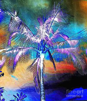 Electric Palm Tree by Lisa Cortez