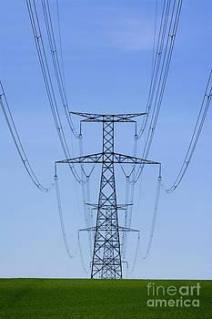 BERNARD JAUBERT - Electric pole