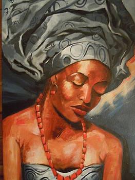 Elegant African Beauty by Michael Echekoba