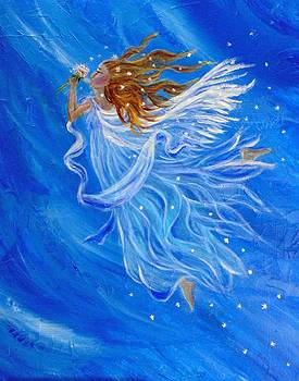 Elemental Earth Angel Of Wind by The Art With A Heart By Charlotte Phillips