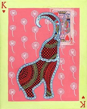 Elephant King of Hearts by Anusha Mishra