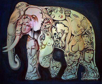 Elephant by Kritsana Tasingh