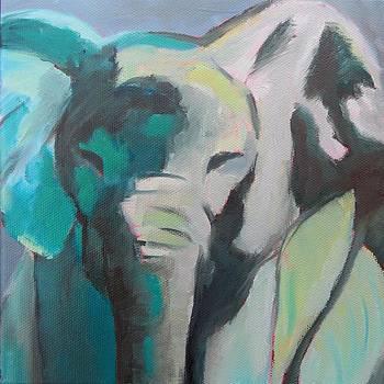 Elephant by Liesbeth Verboven