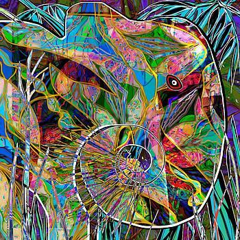 Elephant's Kaleidoscope by Mary Eichert