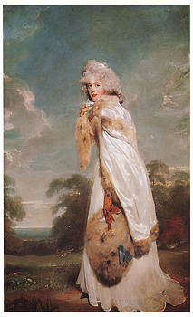 Sir Thomas Lawrence - Elizabeth Farren
