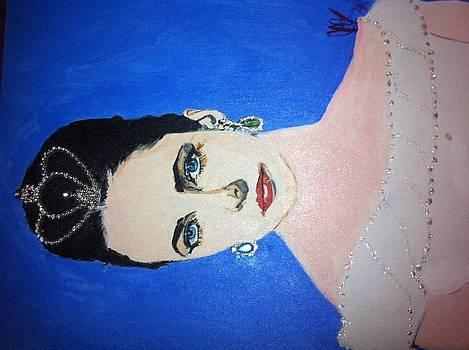 Elizabeth Taylor by Justin James