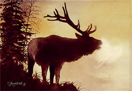 Elk Bugle by Jill Westbrook