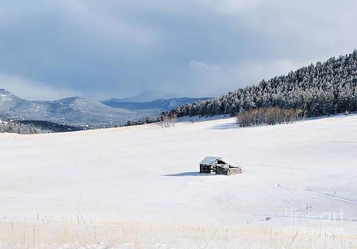 Elk Meadow Barn by Beth Riser