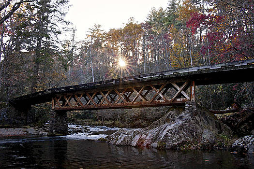 Elkmont Bridge by Heather Reeder