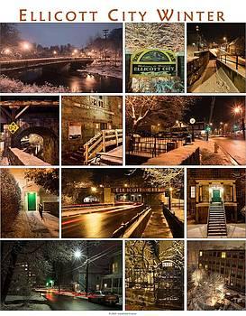 Dana Sohr - Ellicott City in the Snow