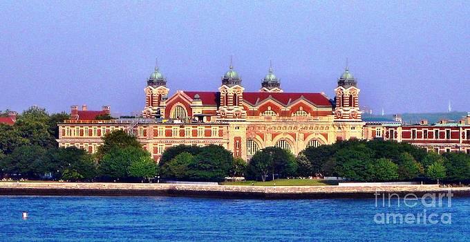 Ellis Island Museum by Judy Palkimas