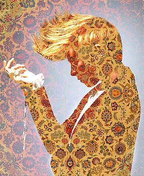 Mary Clanahan - Elly La Roux Abstract Art Portrait