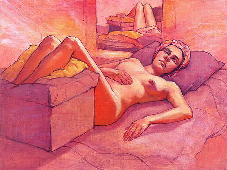 Elodie at Rest by Roz McQuillan