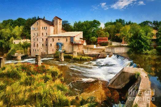 Elora Mill by doug hagadorn by Doug Hagadorn