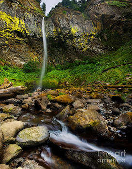 Elowah Falls by Matt Tilghman