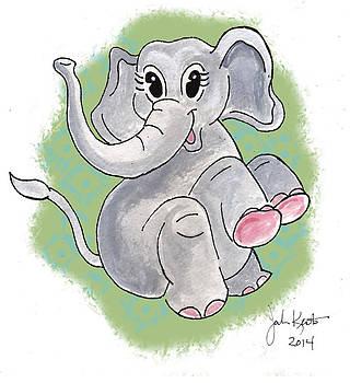 Elsie The Elephant by John Keaton