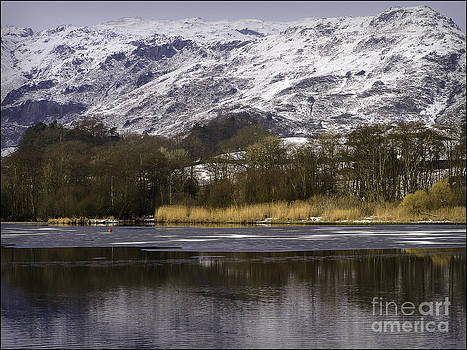 Elterwater and The Langdales No2 by George Hodlin