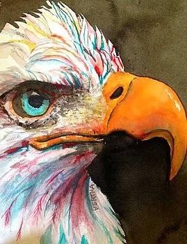 Elton Eagle Means Business by Karen bertha Calderon