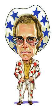 Elton John by Art
