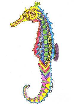 Elusive Seahorse by Shanti Treese