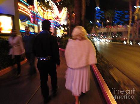 Elvis and Marilyn Monroe by Danielle Bedard
