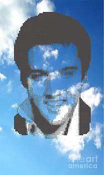 Elvis On Clouds by Rodolfo Vicente
