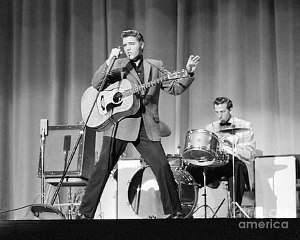 The Harrington Collection - Elvis Presley and D.J. Fontana performing in 1956