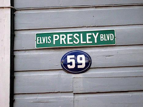 Elvis Presley Boulevard by Leena Pekkalainen