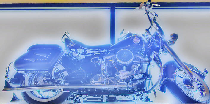 Elvis Presley Harley Davidson  HDR by Thomas  MacPherson Jr